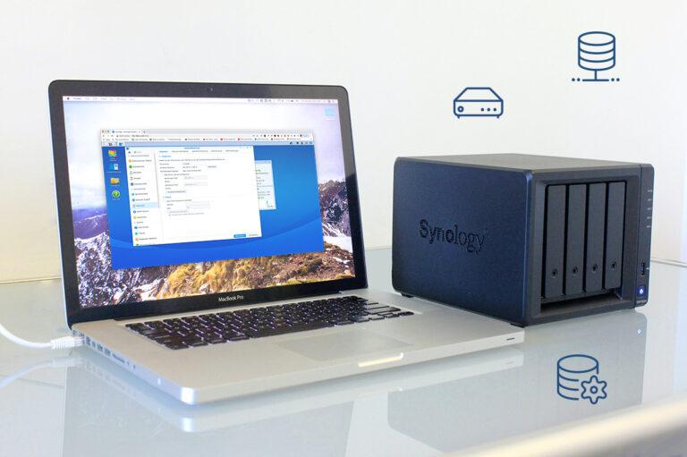 Einrichtung Synology Hilfe macworx apple service Dortmund